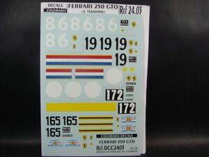 DECALS-1-24-FERRARI-250-GTO-19-86-172-165-TDF-COLORADO-2403-UV