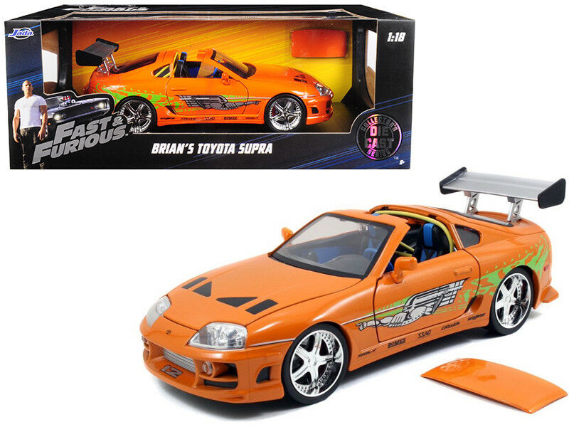 Brian ist toyota supra - Orange  fast & furious  - film 1   18 nein von jada 97505