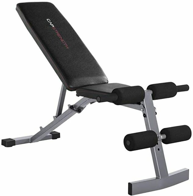 Flat Incline Decline Workout Fitness Bench Black Cap Barbell Strength Training For Sale Online Ebay