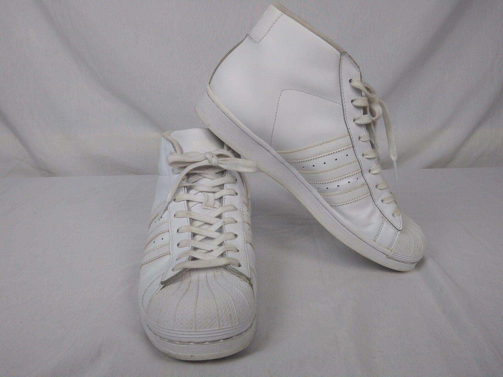 Adidas - modell alle weißen männer ist hoch oben größe 10,5 116299057