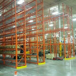 Pallet Racking - Cantilever -Industrial Shelving -  Guardrail - Mezzanine -  Wire Partition - Installations Oakville / Halton Region Toronto (GTA) Preview