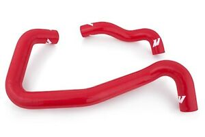 MISHIMOTO-Coolant-Hose-Kit-Red-Silicone-05-07-Ford-F-250-6-0L-Mono-Beam-4WD