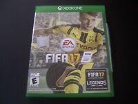 Replacement Case (no Game) Fifa 17 2017 Xbox One 1 Xb1 100% Original