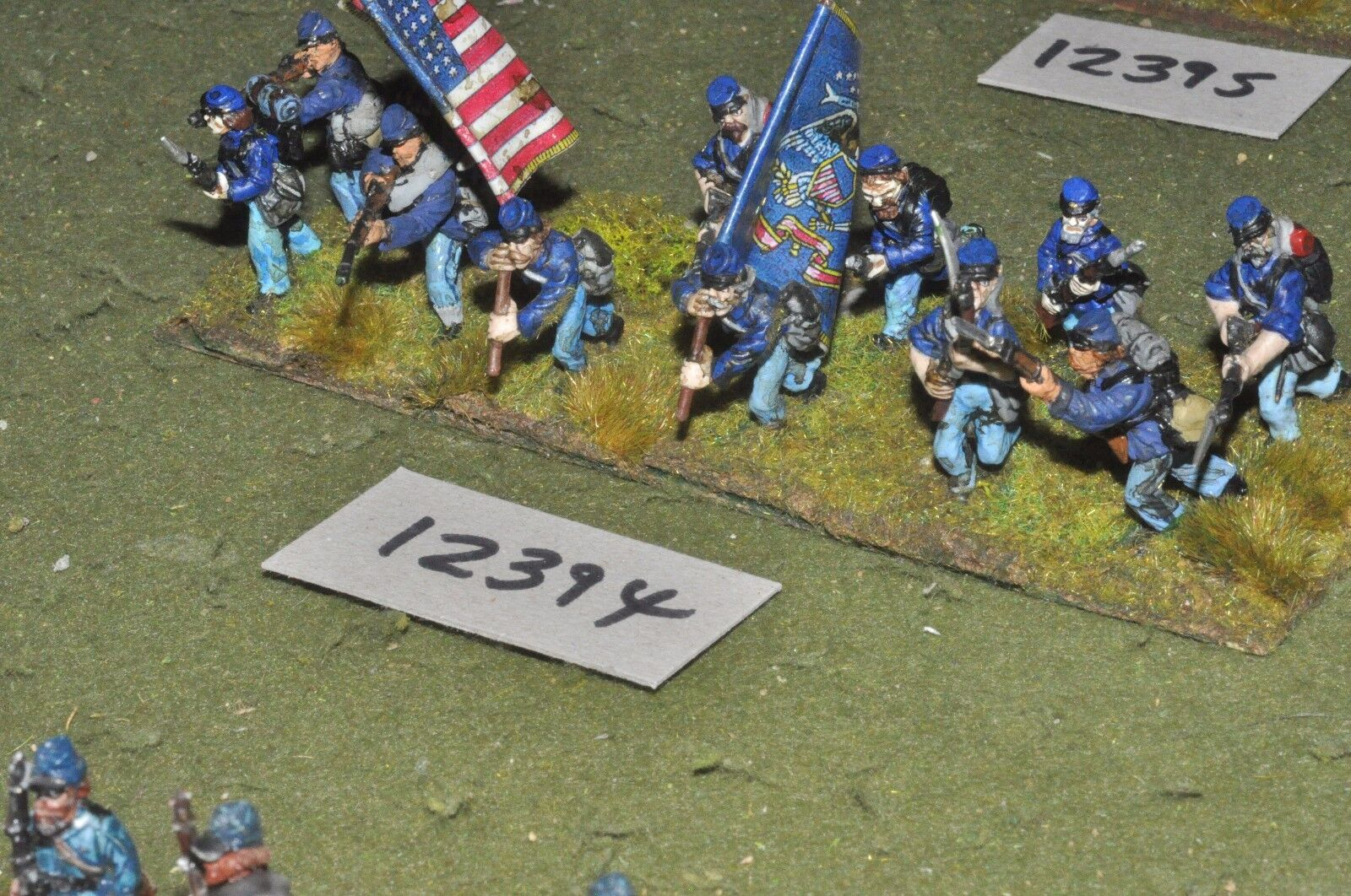 25mm ACW   union - american american american civil war infantry 12 figures - inf (12394) ad632a
