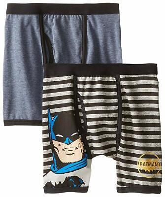 8 or 10  $15 BATMAN DC SUPERHERO 2-Pack Boxer Briefs Underwear NWT Boys Size 6