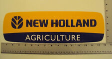 New Holland Large sticker decal Agriculture Tractor IMCA NHRA USRA
