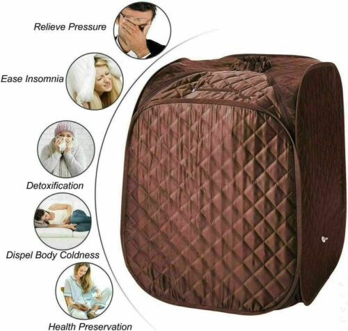 Details about  /2L Portable Folding Steam Sauna SPA Loss Weight Detox Therapy Body slim b e 332