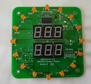 LED-Display-MAX7219-Arduino-ESP8266-Wemos-Wind-Speed-and-Direction