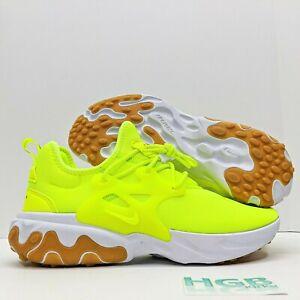 Details about Nike React Presto Men's Green White AV2605-702 Volt Gum Shoes  Sneaker