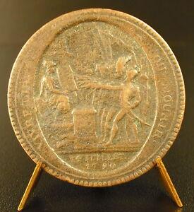Medaille-France-Revolutionnaire-Monneron-monnaie-de-Confiance-de-Cinq-Sols-medal