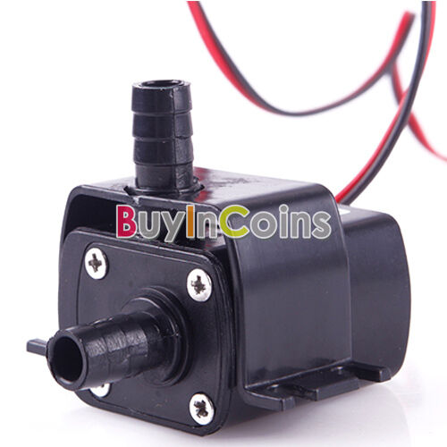 Mini DC 12V 240L/H Brushless Motor Submersible Water Pump High Quality