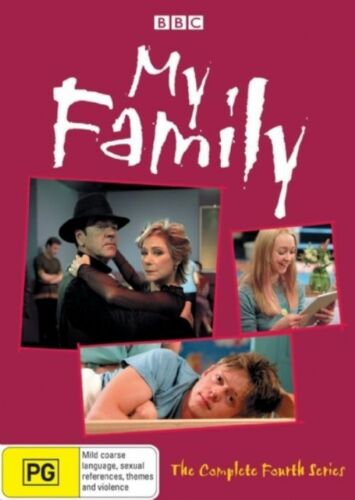 1 of 1 - My Family : The Complete Fourth Series 4 (DVD, 2008) R4 New Sealed Free Post