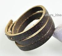 Simply Cool Surfer Multi Wrap Crack Leather Bracelet Wristband Cuff Men's