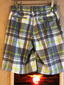 1b92c4268d Ocean Pacific OP 4-way stretch OPFLEX men's plaid shorts size 28 x ...