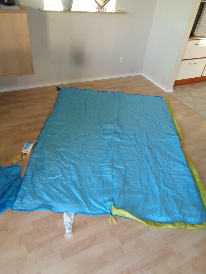 Easy Camp, COMIC, tæppepose facon og varmekant