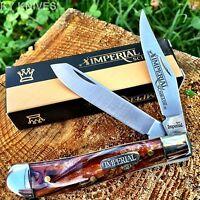 Schrade 2 Blade Hunting Hunter Usa Seller Pocket Knife Imp15t Sharp