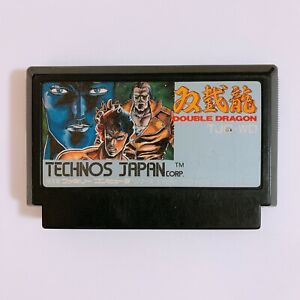 DOUBLE-DRAGON-1-Nintendo-Famicom-FC-NES-Japan-game-tested-and-working