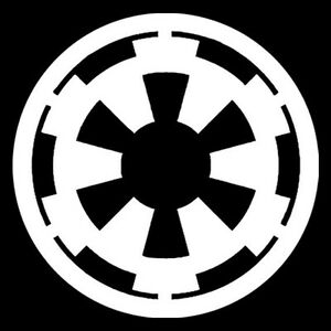 star wars galactic empire logo vinyl sticker car decal. Black Bedroom Furniture Sets. Home Design Ideas