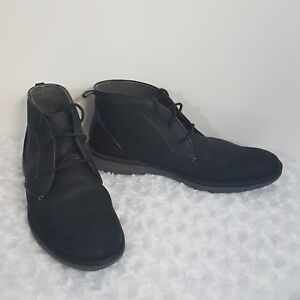 Details about Skechers Mark Nason Mens Chukka Black Ankle Desert Boots Suede 68122 Shoes 13