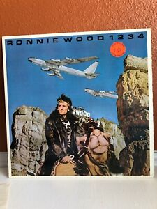 Ronnie Wood, 1234, Promo Vinyl LP, Columbia, 1983