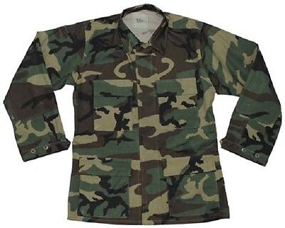 Us Army Gi Bdu Campo Giacca Field Jacket Giacca Woodland Camouflage Small Short- Sconto Online