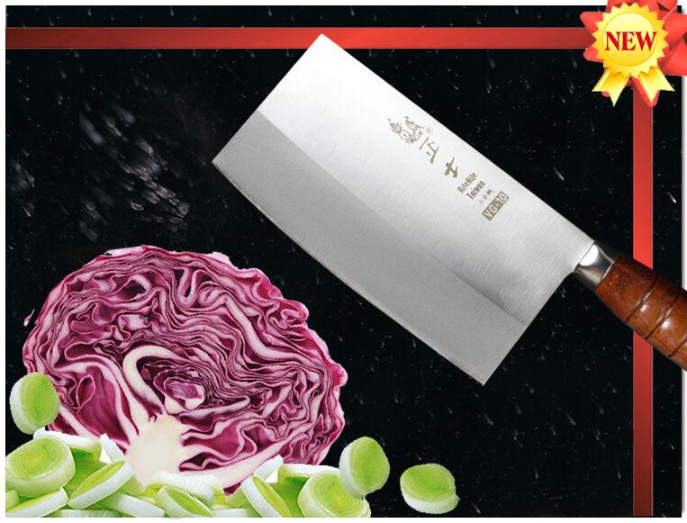 Handmade Japonais VG-10 Acier Cleaver 7 in (environ 17.78 cm) légumes à découper couteau coutellerie