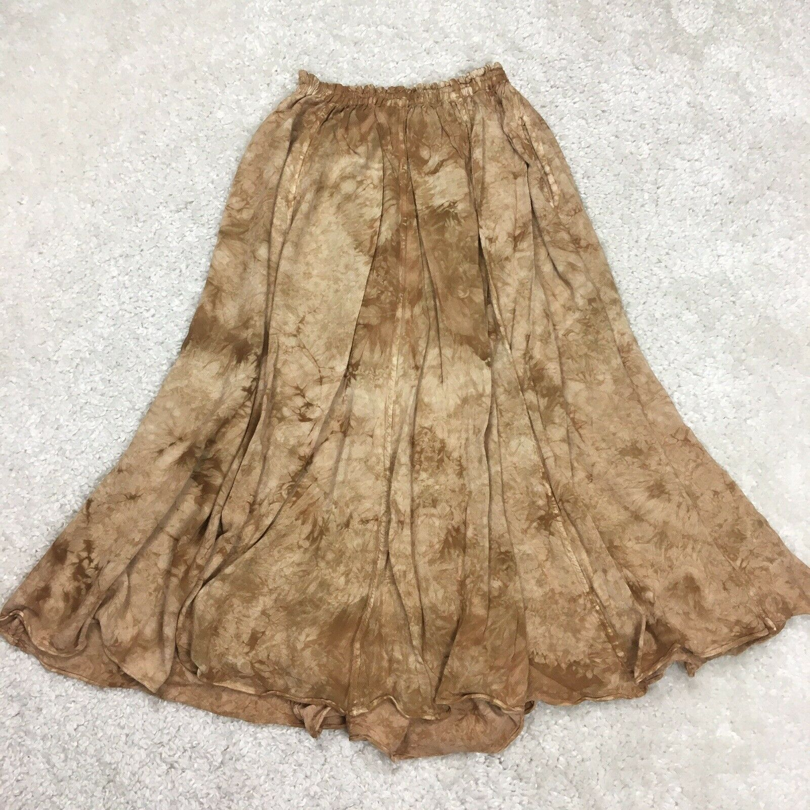 *READ One Size XS S M L Laise Adzer Brown Tie Dye… - image 2