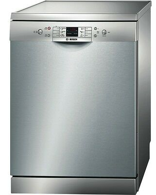 NEW Bosch SMS63L08AU Stainless Steel Freestanding Dishwasher