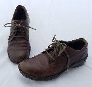 Born-Classic-Brown-Leather-Lace-Up-Oxfords-Comfort-Shoes-W61300-Womens-8M-39-C18