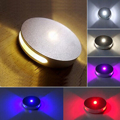 3W LED Wall Sconces Light Fixture Dimmable/Not Circle Lamp Disco Corridor Hotel