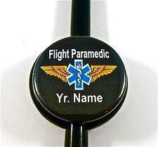 ID STETHOSCOPE NAME TAG,FLIGHT PARAMEDIC,FLIGHT MEDIC,NURSE, EMS,RESCUE FLIGHT