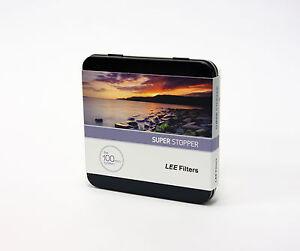 Lee-FILTROS-Super-Stopper-15-paradas-100x100mm-Filtro-De-Vidrio-nuevo-acaba-de-recibir