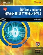 Security+ Guide to Network Security Fundamentals by Mark Ciampa (2014, Paperback / Mixed Media)