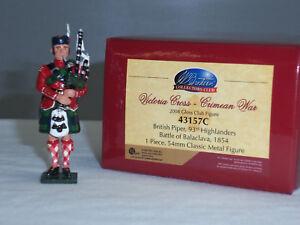 Britains 43157c Collectors Club Guerre de Crimée Britannique 93ème Highlander Piper 783724431571