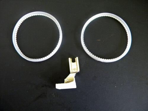Geradeausfuß Teflon Fuß mit Ringen TRF-1