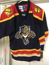 1aaa4d2d7d7 item 1 Vintage BLUE Florida Panthers Hockey Jersey 90s NEW With Tags!!  Youth L-XL -Vintage BLUE Florida Panthers Hockey Jersey 90s NEW With Tags!!