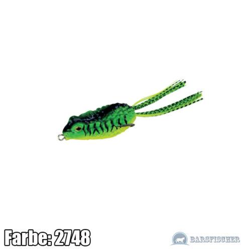 en caoutchouc poisson appât grenouille Floating Predator-z Bufo Frog cuillère caoutchouc cuillère