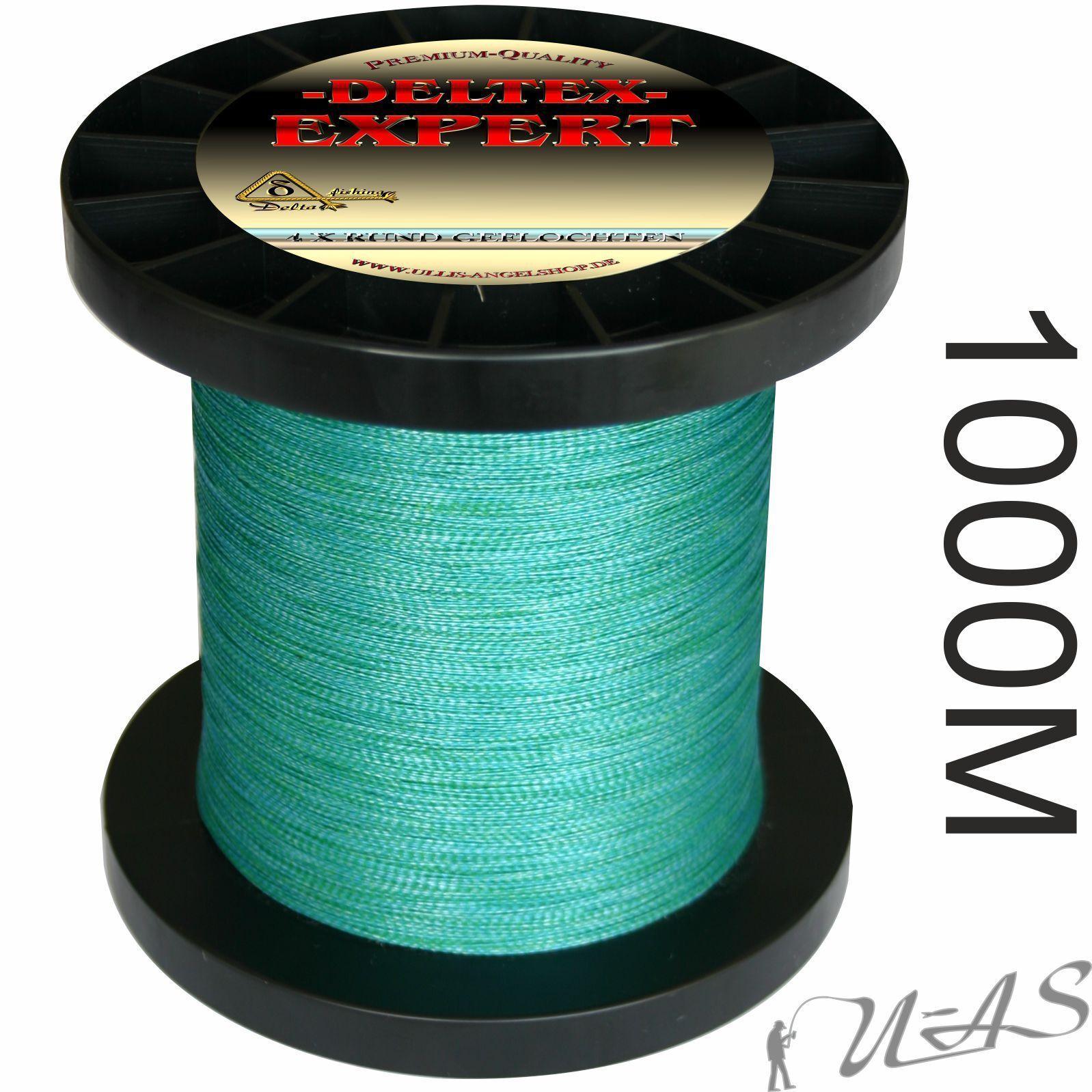 Deltex Expert Marronee Blu 1000m 4 volte circa intrecciato lenza DYNEEMA PE RBA