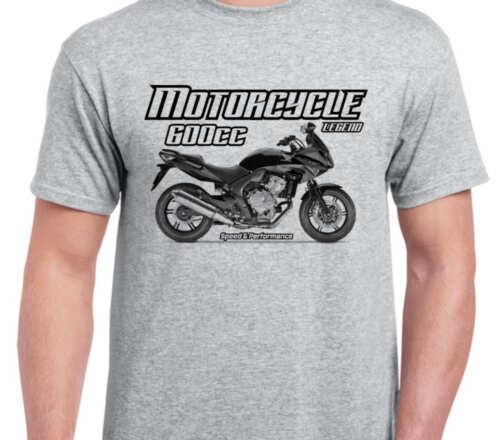HONDA CBF600S 2010 inspired vintage motorcycle classic bike shirt tshirt