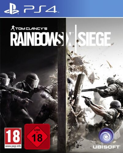 1 of 1 - PS4 Tom Clancy's Rainbow Six Siege 100% Uncut New PlayStation 4 Package Shipping