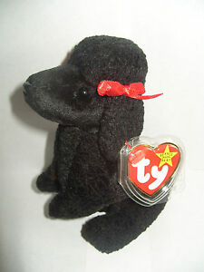 TY BEANIE BABY GIGI - BLACK POODLE - MINT - RETIRED 8421041916  b002d94939c