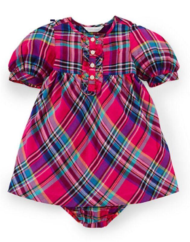 #9105 Rose Kelly baby cotton Dress kids party dress s 2 3 4 5 6