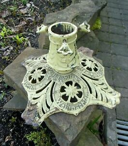 Uncommon Cast Iron Christmas Tree Stand German Antique From About
