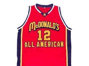 BRANDON JENNINGS McDONALD/'S ALL AMERICAN BASKETBALL JERSEY McDONALD NEW ANY SIZE