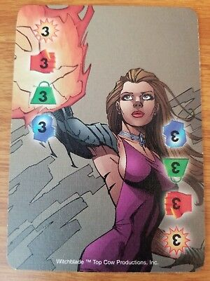 Marvel Overpower Image Witchblade Protective Drive NrMint-Mint Card