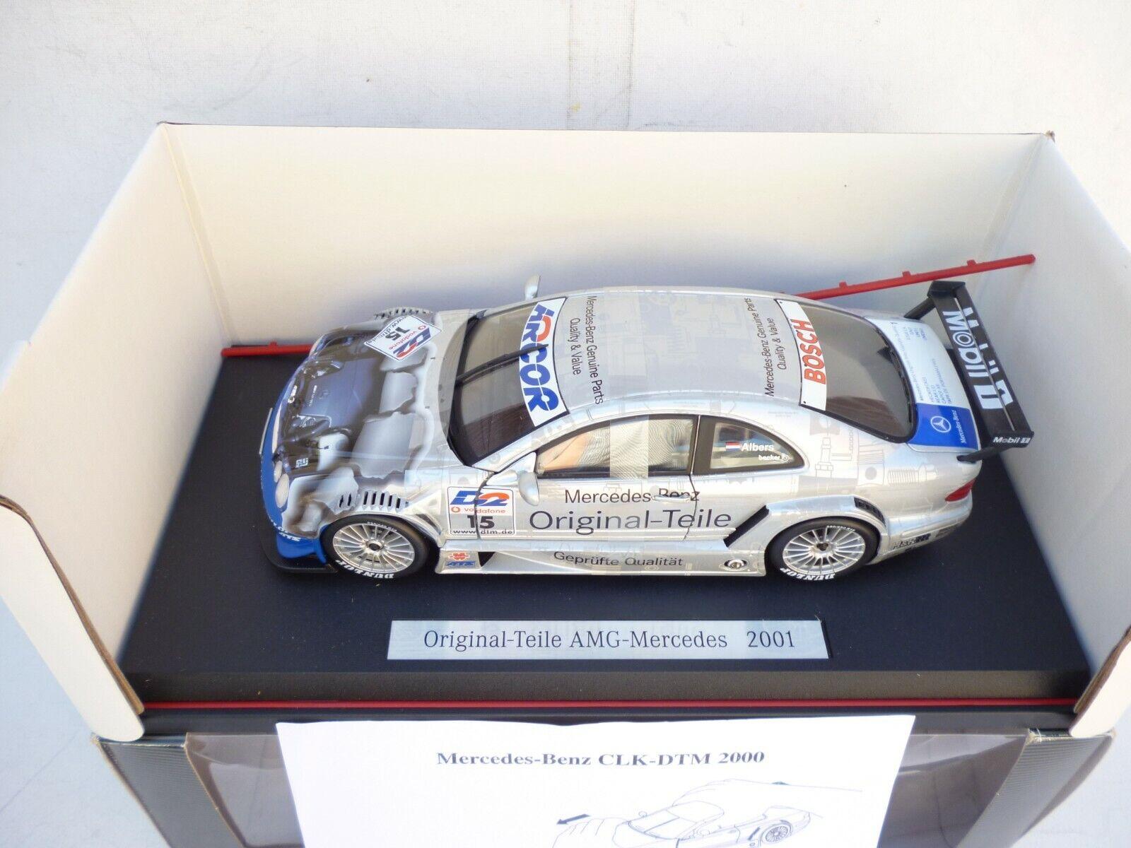 1 18 Orginal Teile AMG Mercedes NO 15 Albers Becker Maisto Brand New in box Rare