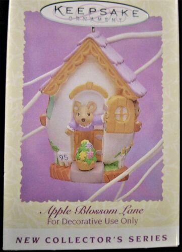 1995 Hallmark Keepsake Easter Collection Ornament ~ APPLE BLOSSOM LANE ~  MINT!