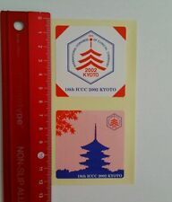 Aufkleber/Sticker: Kyoto Chemistry (05041639)