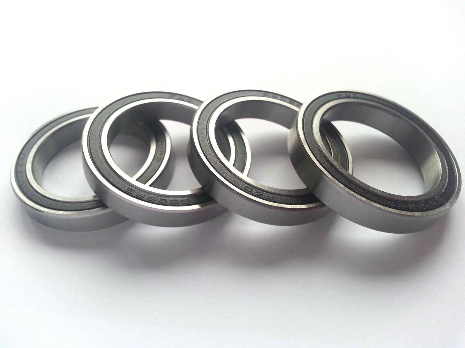 6806-2RS bearing premium bearings ABEC5 2 Pcs.