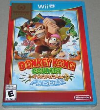 Donkey Kong Country: Tropical Freeze Nintendo Wii U  Brand New Sealed!